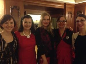 EALA_Bologna2014_Bonnier Party with Salla Simukka
